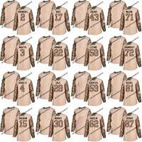 Dia de veteranos de Pittsburgh Jersey prática 30 Matt Murray 58 Kris Letang 71 Evgeni Malkin 81 camisas de Sidney Crosby de Phil Kessel 87