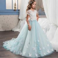 Красивый дизайн развертки поезд девушки цветка платье с коротким рукавом онлайн платье день рождения подростков платье театрализованное