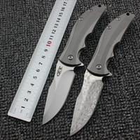 Zero Tolerance ZT0606CF Neue taktische Klappmesser VG10 Damaskus / D2 Klinge Pocket EDC Rescue Tools Messer Wildnis Überleben Jagdmesser