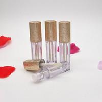 2,5 ml Lippenstift Rohr Leere Kunststoff Lipgloss Frauen Kosmetische Container Rohrbürste Schnelles Verschiffen F897