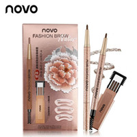 novo makeup Double eyebrow pencil Liquid Eyebrow Pen Eyebrow...