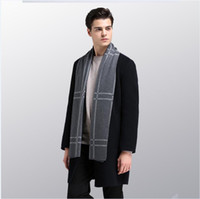 Men wool scarves Winter warm scarf high quality hot sale men...