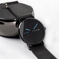 relogio masculino BOBO BIRD Men Watch  Stainless Steel Date Display Quartz Watches Women Gifts Accept LOGO Drop Shipping