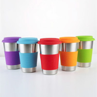 500ml Stainless Steel Cup Single- layer Beer Cups Coffee Mug ...