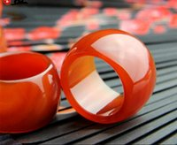 Prosperous jade industry natural red agate straight pull fin...
