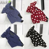 Wide Big Bow Hair Band Girls Women' s Headbands Knot Hea...
