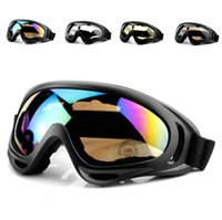 X400 UV Tactical Bicicleta Óculos de Esqui Óculos de Patinação Óculos de Esqui À Prova de Vento À Prova de Poeira Com alça Elástica Ciclismo Eyewear A365