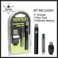 2018 Batteria a preriscaldo kit Vertex 400mah Diametro 11.2mm bobina Dual quatz coil vs vv battery 0268071-1