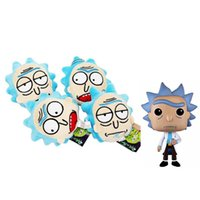 Rick and morty plush ornaments toys Rick and Morty Cartoon A...