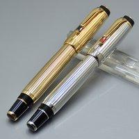 Top Bohemies de alta calidad Rollerball Pen Classic Nib Fountain Pens Papelería Oficina Suministros de la escuela con diamante y número de serie