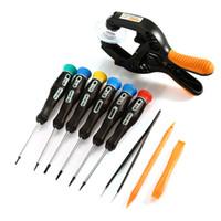 JAKEMY 13 in 1 Handy Handy Bildschirmöffnung Reparatur Werkzeuge Kit Schraubendreher Zange Pry Zerlegen Werkzeuge Set Für Samsung iPhone VB