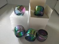7-Color Yağ Uzatma Yedek Ampul Kabarcık Cam Tüp TFV12 prens için Resa TFV8 büyük bebek Sopa X8 kiti