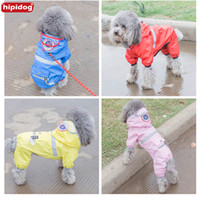 Hipidog Pet Clothes Dog Translucent Hat Raincoat Hooded Wate...