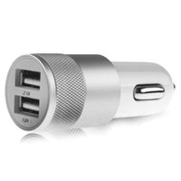Dual USB Car Charger output 2. 1A fast charging Mobile Phone ...