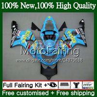 Suzuki GSXR 1000 CC K2 Rizla Blue GSX-R1000 00 02 28MF21 GSXR1000 00 01 02 GSXR-1000 GSX R1000 2000 2002 2002フェアリングボディワーク
