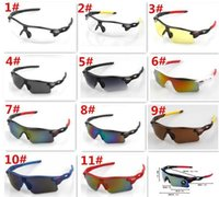 hot selling 2018 Men Bicycle Sports Sunglasses Cycling Eyewe...