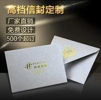 de alto grado de sobres de cartón kraft sobres de papel recubierto logotipo de forma personalizada