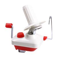 أدوات الخياطة أدوات الخياطة سويفت الغزل الألياف سلسلة الكرة الصوف حامل اللفاف المنزلية اليد تعمل كابل إبرة آلة لف مربع 2021