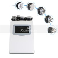 Salon use 5in 1 Unoisetion Cavitation rf machine vacuum rf s...