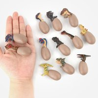 12PCs lot Jurassic Dinosaur Toys Hand Model Half Incubating ...