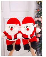 Плюшевые игрушки 40 см Санта Клаус Рождественский подарок плюшевые игрушки куклы Grab куклы Женский подарок на день рождения