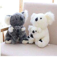 1 Pcs 코알라 플러시 장난감 호주 동물 코알라 인형 귀여운 동물 인형 소프트 인형 엄마 코알라 어린이 코알라 장난감 고품질 키즈 완구