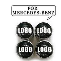 벤츠 안전 휠 타이어 공기 밸브에 대한 자동차 스타일링 자동차 타이어 밸브 캡은 메르세데스 벤츠를 위해 커버 줄기