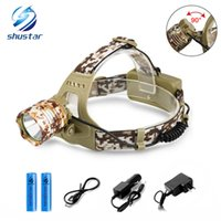 Shustar 3800LM T6 Led Headlamp Headlight Camouflage led Head...
