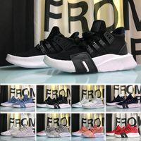 796bde16f376 2018 Adidas EQT Bask ART shoes новый EQT Bask Support Future 93 17 Тройной белый  черный
