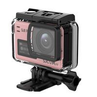 16 GB TF Karte + Orignal SJCAM SJ8 Pro 4 Karat 60fps Sport Kamera Wasserdichte Anti-Shake Dual Touchscreen WiFi Fernbedienung Action Video Kamera DV