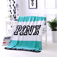 Adult children ' s pink flannel blanket fashion casual a...
