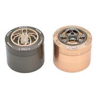 2018 new animal watch cover grinder sigaretta 4 livelli rettificatrice diametro 50mm fumo set