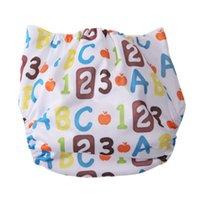 Tissu Lavable couches pour bébés Couverture Diapers bébé Cartoon imperméable Tissu Nappy pour unisexe nourrisson bébé