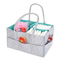 Multi Storey Felt Reticule Conveniente Organizer Pieghevole Mamma Pannolini per bambini Sacchetto Di Immagazzinaggio Per Auto Viaggi Vendita Calda 22mz dd
