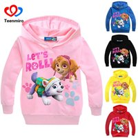 2018 New Sweatshirts for Baby Boys Girls Dog Hoodies Costume...