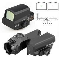 PPT D-EVO 6x20mm التكتيكية riflescope الأحمر نقطة البصر رد الفعل البصر بندقية مشاهد للصيد اطلاق النار CL2-0122
