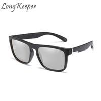 Новое Поступление. Долго Хранитель мужчины поляризованные фотохромные  солнцезащитные очки обесцветить солнцезащитные очки хамелеон ... 01dce26588f