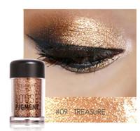 nuovo arrivo Ombretto glitter Ombretto sciolto impermeabile Ombretto pigmento 3D Nude Metallic Eye Shadow Cosmetici per il trucco