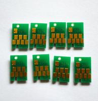 8 ПК / комплект, R2400 Ошибки автоматического сброса для Epson Stylus Photo R2400 Принтер T0591-T0599 Чернильный картридж постоянный чип-сигнал и пополнение