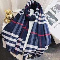 Temperament Retro Print Scarf, 2018 New Fashion Tassel Scarf...