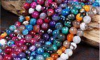 6mm Natürliche Edelstein Facet Achat Runde Kugel Perlen Halbedelstein diy Perlen Schmuck Zubehör Perlen für Schmuck machen