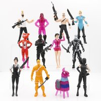New 12 Style Fortnite Llama Plastic Doll toys kids 11. 5cm Ca...
