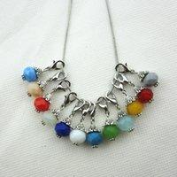 120 / pcs venda quente prata 12 cores mix strass cristal dangle encantos com fecho da lagosta para jóias diy vivendo medalhões flutuantes