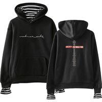 Damen Hoodies Sweatshirts Got7 Hoody Velvet Fake Zwei Student Gril Hoodie Frauen Casual Fashion TurtLenceck Cool