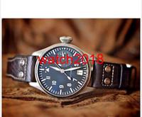 Lüks İzle En Kalite Otomatik Mekanik Saatler Safir I / W500201 Çelik 43mm 7 Gün Moda Marka Erkek Izle erkek Saatleri