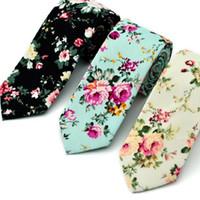 망 넥타이 웨딩 코튼 신랑 목 넥타이 Cravat 넥타이에 대한 꽃 넥타이