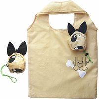 New Animals Cute Dog Nützliche faltbare faltbare Einkaufstüten aus Nylon Wiederverwendbare umweltfreundliche Supermarkt-Einkaufstüten 2018