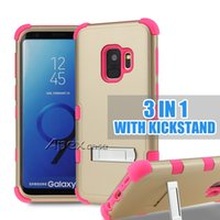 For iPhone X 8 7 6Plus 3 in 1 Hybrid Defender Armor iphone c...