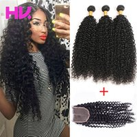 peruvian Virgin Hair With Closure Extensions 3 Bundles peruv...