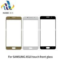 20 unids / lote para Samsung Galaxy para A3 2016 A310 A5 A510 A710 Reemplazar exterior de cristal LCD de pantalla táctil frontal Paneles de vidrio Digitalizador Sensor de piezas